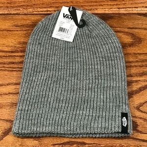 0224c424f Vans Mens Mismoedig Beanie Hat Grey One Size Fits NWT